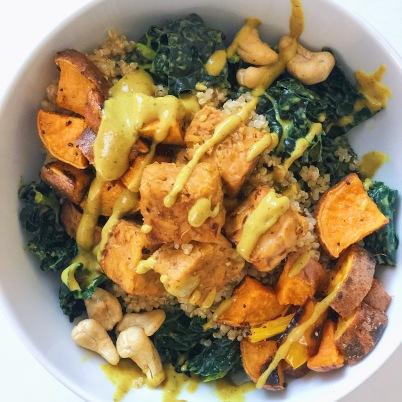 sweet pot curry bowl